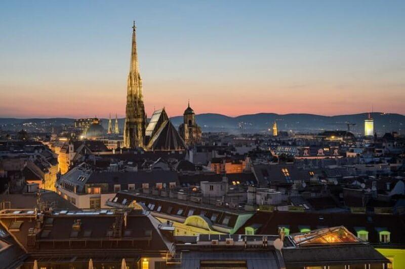 Grad Beč, Austrija