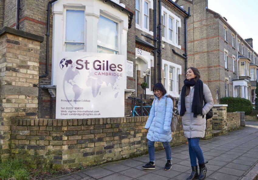 škola engleskog u Kembridžu, St Giles