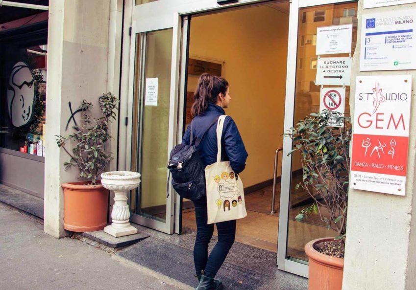škola italijanskog u Milanu