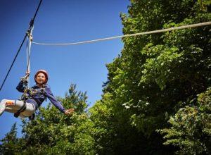 zip wire letnji kamp