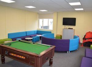 prostorije za druženje, Kembridž, Belllerbys College