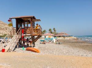 plaža na Kipru