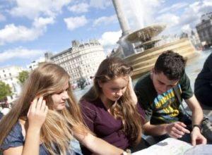 učenje engleskog London