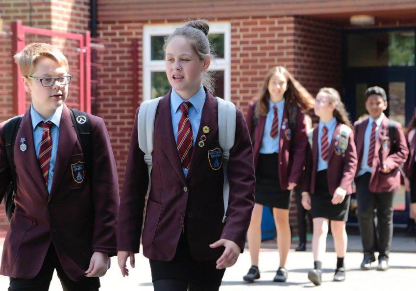 državne srednje škole u velikoj britaniji