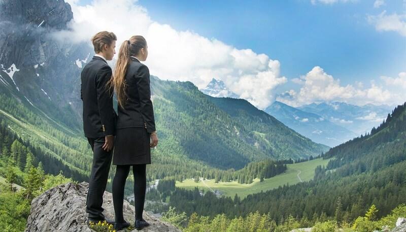 privatni internat u Švajcarskoj