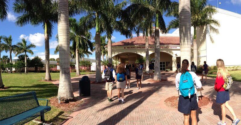 srednja škola na Floridi