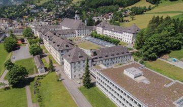 letnji kamp nemačkog u Švajcarskoj
