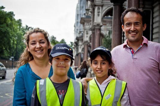 porodični program u Londonu
