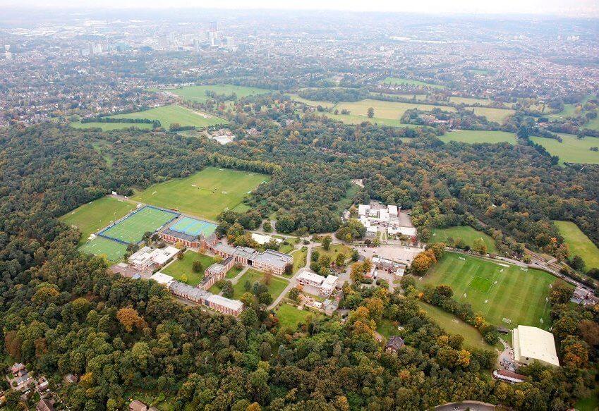 srednja škola blizu Londona, Engleska