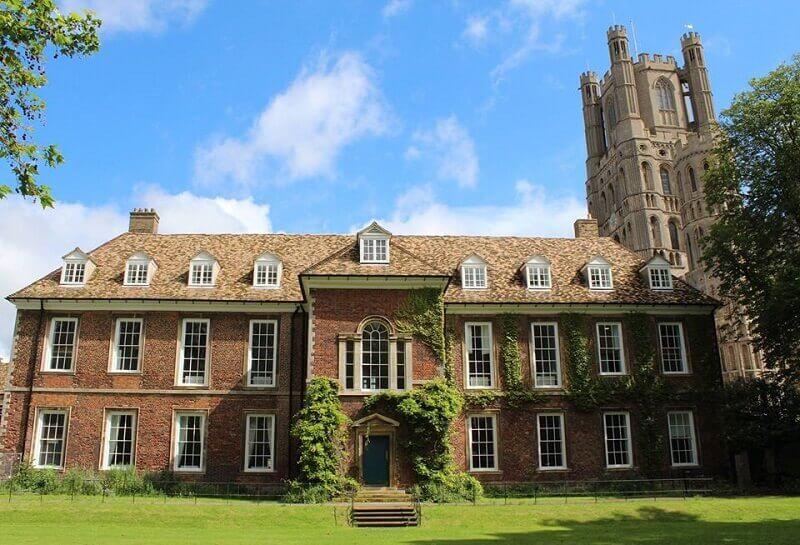 srednja škola blizu Kembridža